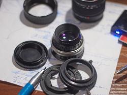 Отдается в дар «Обьектив на фотоувеличитель»