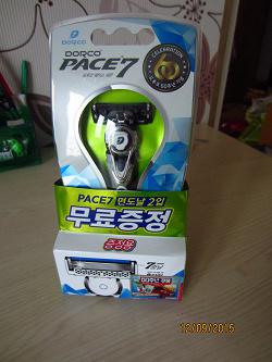 Отдается в дар «Бритвенный станок Dorco Pace 7»