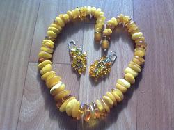 Отдается в дар «Сережки с янтарем»