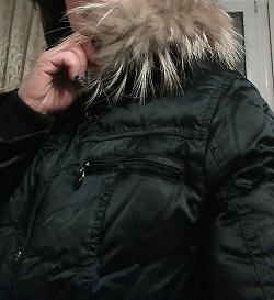 Отдается в дар «Зимний тёплый пуховик»