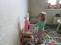 Отдается в дар «Детский кулер для воды HITT «Мультик»»