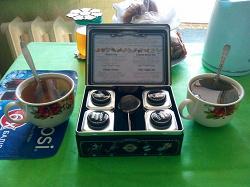 Отдается в дар «Набор чая — 4 вида»