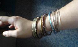 Отдается в дар «браслеты»