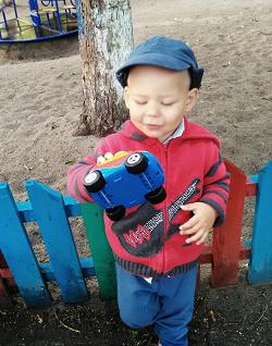 Отдается в дар «Шапка для мальчика 3-4 лет»