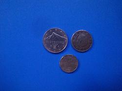 Отдается в дар «Евроценты из оборота»