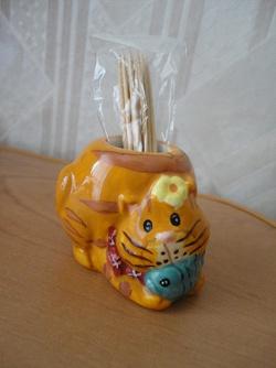 Отдается в дар «Кот для зубочисток»