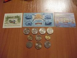 Отдается в дар «13 иностранных монет.»