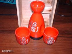 Отдается в дар «Набор для саке.»