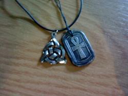 Благодарность за дар Кулон с кельтийским узором