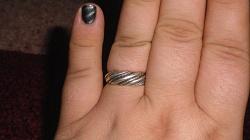 Отдается в дар «Кольцо серебряное»