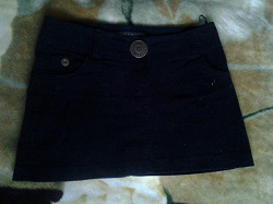 Отдается в дар «Вельветовая мини юбочка»