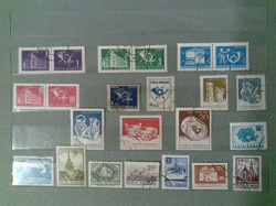 Отдается в дар «Почтовые марки Румынии»