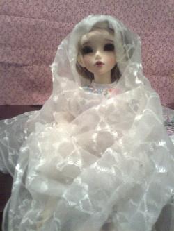 Отдается в дар «Прозрачный шарфик… ткань на ХМ…»