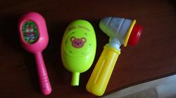 Отдается в дар «Игрушки-погремушки для малышей»