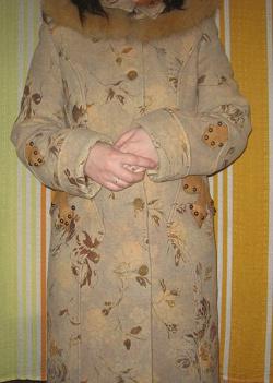 Отдается в дар «Зимнее пальто.»