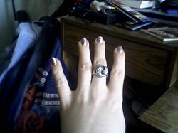 Отдается в дар «Серебряное кольцо»