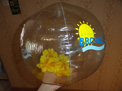 Отдается в дар «Мяч надувной Эйвон.»