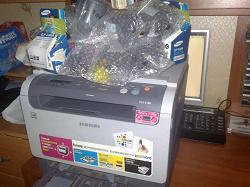 Отдается в дар «Цветной принтер-сканер-копир Samsung CLX 2160»