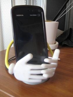 Отдается в дар «Подставка под телефон и держатель бумажек»