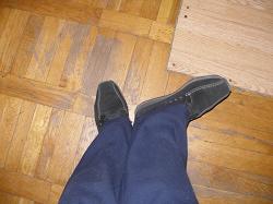 Отдается в дар «Ботинки замшевые»