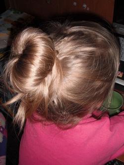 Отдается в дар «Бублик для создания пучков из волос»