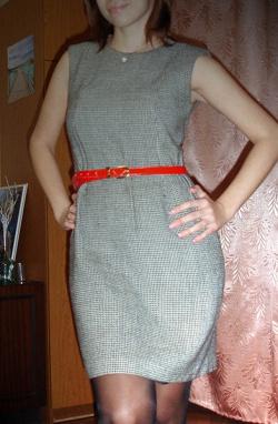 Отдается в дар «Платье-футляр Made in Italy»