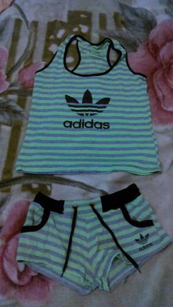Отдается в дар «Набор Adidas»
