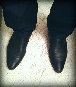 Отдается в дар «Ботинки мужские.»
