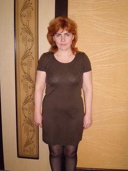 Отдается в дар «Платье короткое трикотажное коричневого цвета»