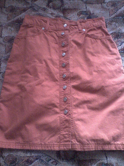 Отдается в дар «Джинсовая юбка»