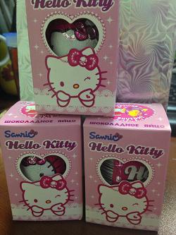 Отдается в дар «Hello Kitty Kinder Surprise»