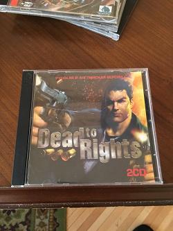 Отдается в дар «Ретро-игра «Dead to Rights» на CD»