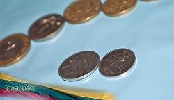Отдается в дар «монетки Литвы»