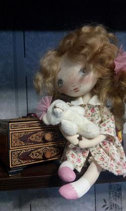 Отдается в дар «Кукла — авторская ручная работа»