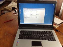 Отдается в дар «Ноутбук Acer Aspire 1640»