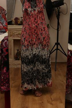 Отдается в дар «платье летнее длинное 48-52 размер»