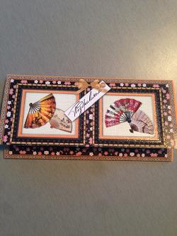 Отдается в дар «Открытка для денег и коробочка»