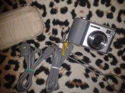 Отдается в дар «Фотоаппарат Samsung Digimax S800»