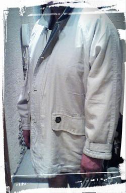 Отдается в дар «куртка Sanga (молочного цвета) для о-очень большого человека на размер 60»
