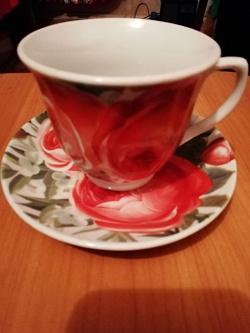 Отдается в дар «Чайный сервиз (6 персон)»