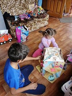 Отдается в дар «Книга-дом, девочке от 5 лет»