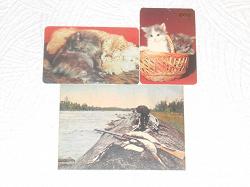 Отдается в дар «Календарики и открытка»