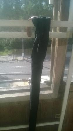 Отдается в дар «Зонт-трость черный»