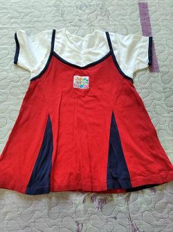 Отдается в дар «Платье летнее для девочки ростом 92-98см»