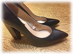 Отдается в дар «туфли тёмно-синие лаковые 36»