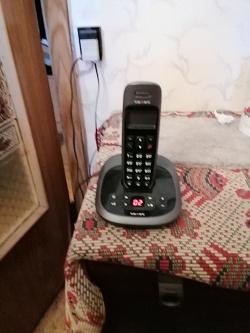 Отдается в дар «радиотелефон с базой»