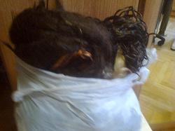Отдается в дар «Волосы искусственные»