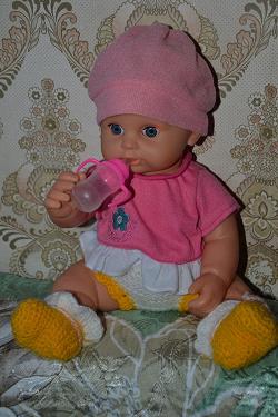 Отдается в дар «Бутылочка для куклы»