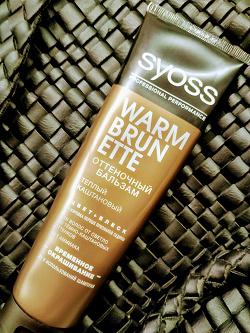 Отдается в дар «Бальзам оттеночный для волос SYOSS»
