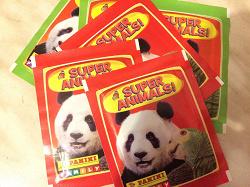 Отдается в дар «Пакетики с наклейками к альбому Panini Super Animals.»